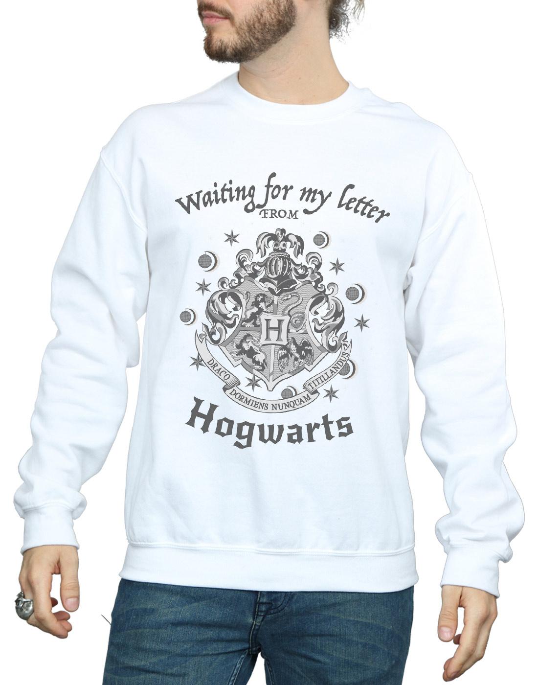 Harry Potter Herren Hogwarts Waiting For My Letter Sweatshirt    | Heißer Verkauf  0b4515