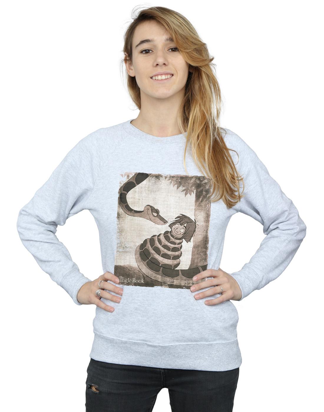 ce15e85ae Disney Women s The Jungle Book Hypnosis Sweatshirt