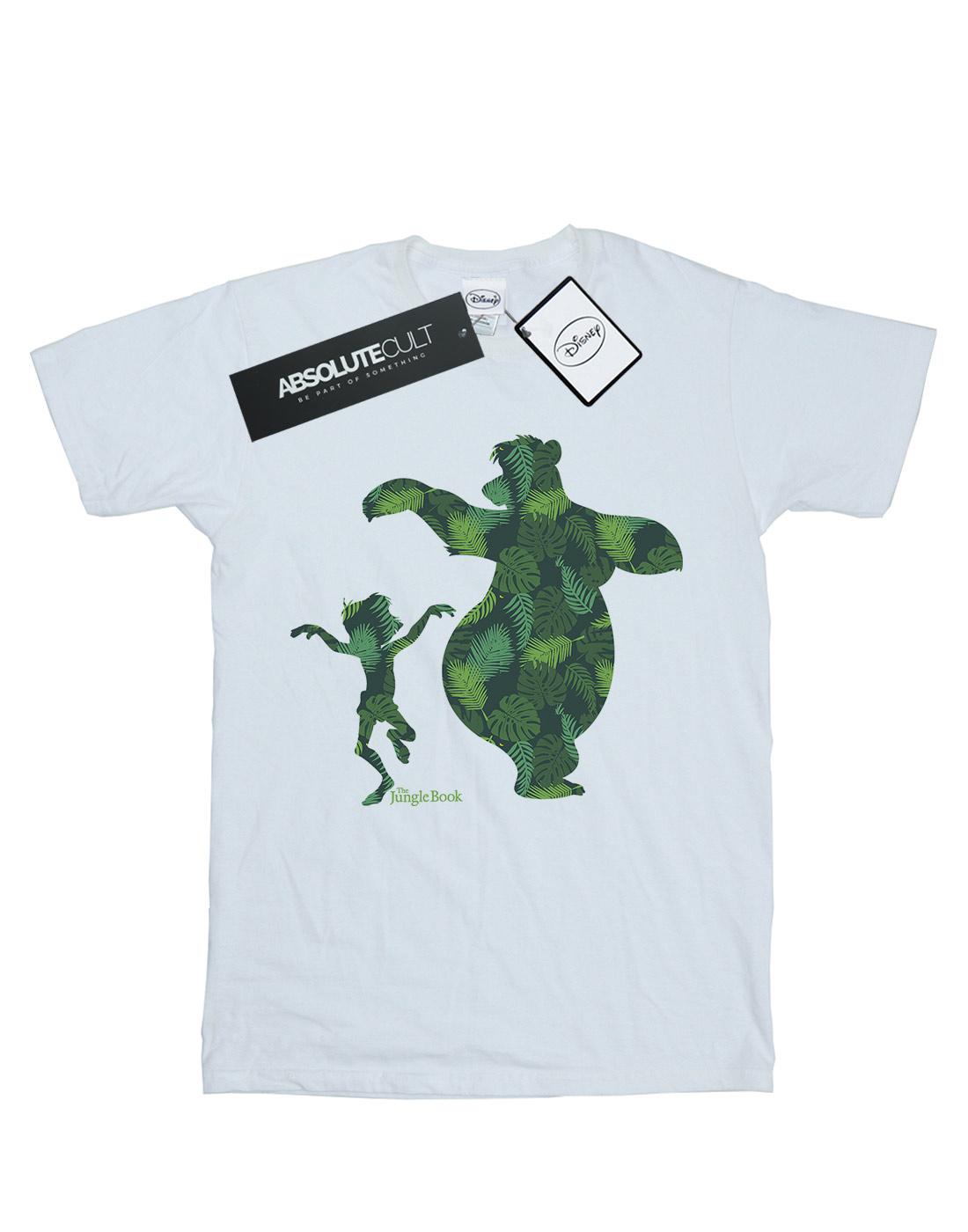 Disney-hombre-The-Jungle-Book-Mowgli-and-Baloo-Dance-Camiseta