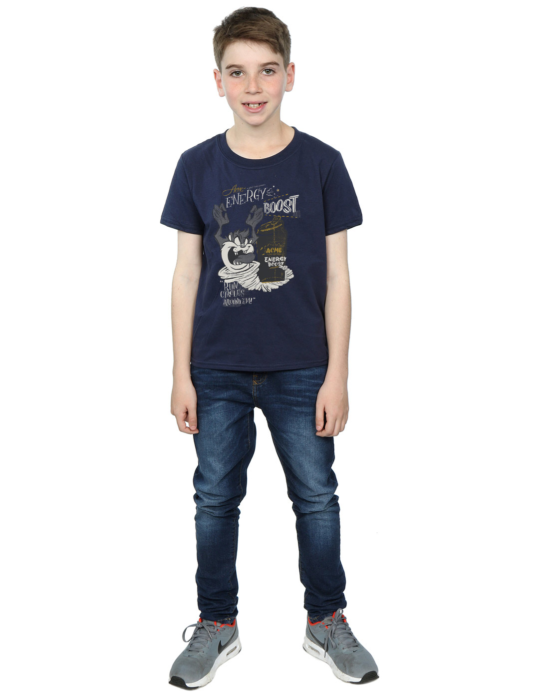 Looney-Tunes-Jungen-Taz-Energy-Boost-T-Shirt