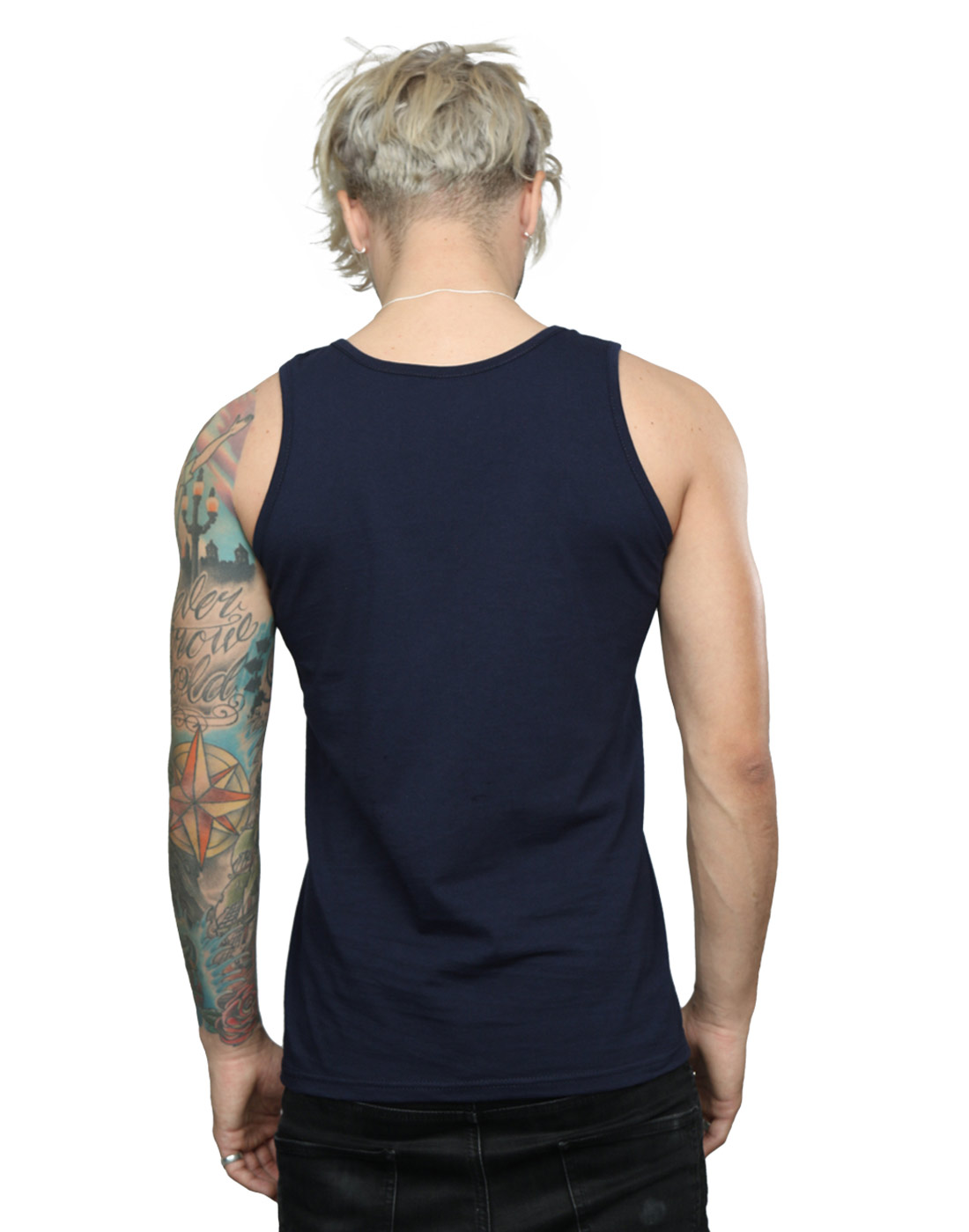 Looney-Tunes-Homme-Daffy-Duck-Big-Face-Tank-Top
