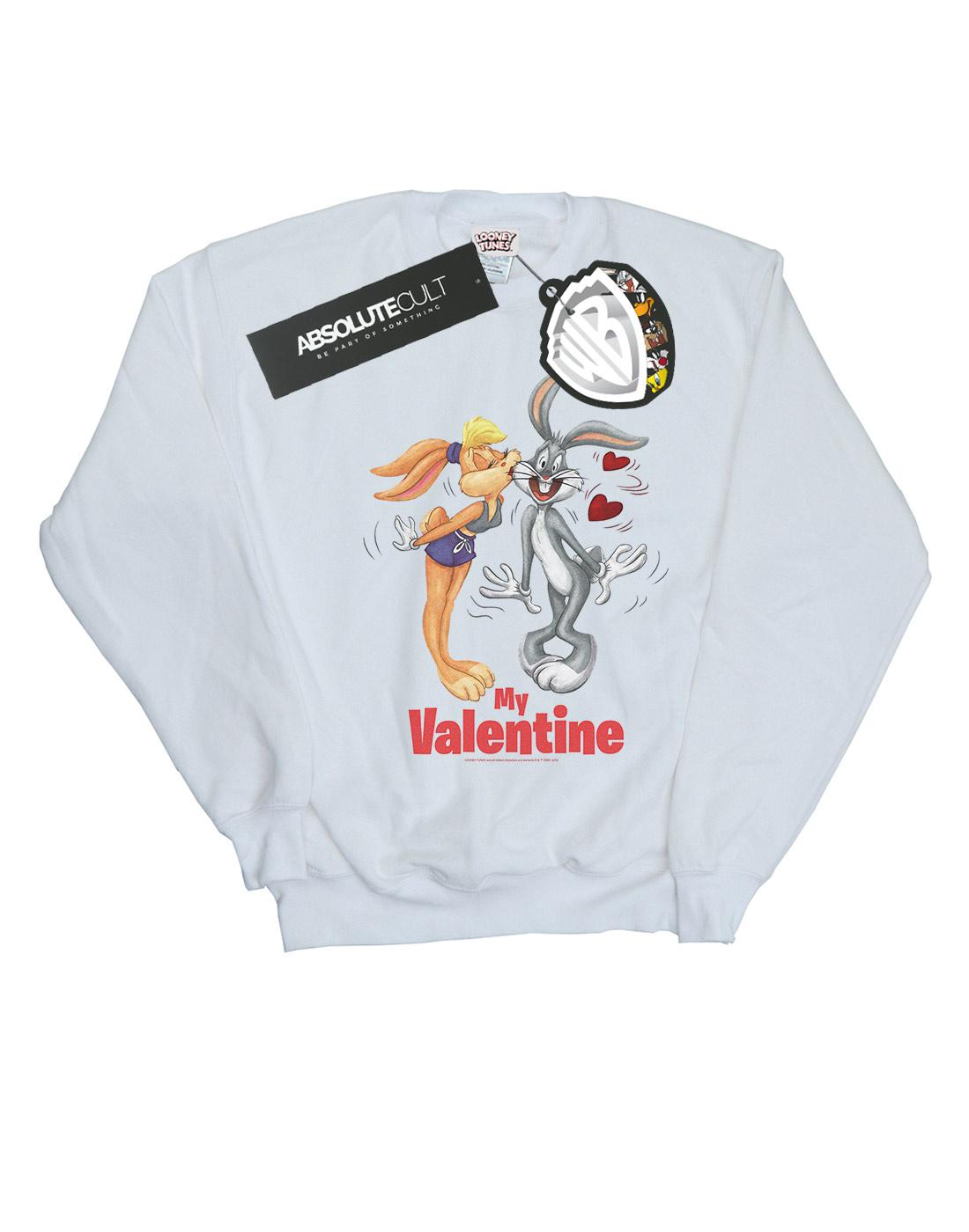 Looney Tunes Girls Bugs and Lola Valentines Cuddle Sweatshirt