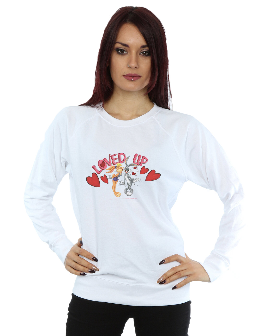 Absolute Cult Looney Tunes Girls Bugs Bunny A-Lister Sweatshirt