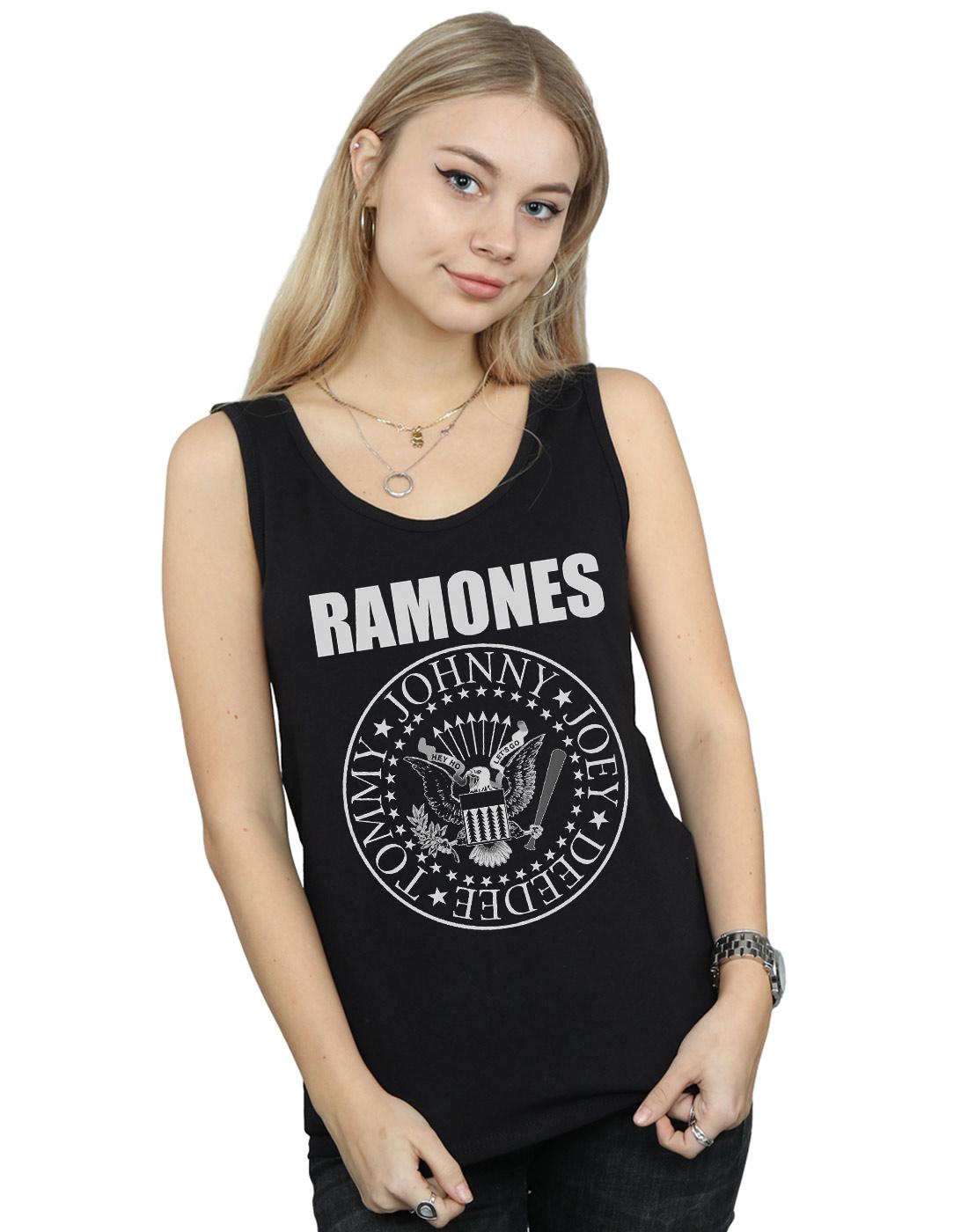 3a09de543c6ab Ramones Women s Presidential Seal Tank Top