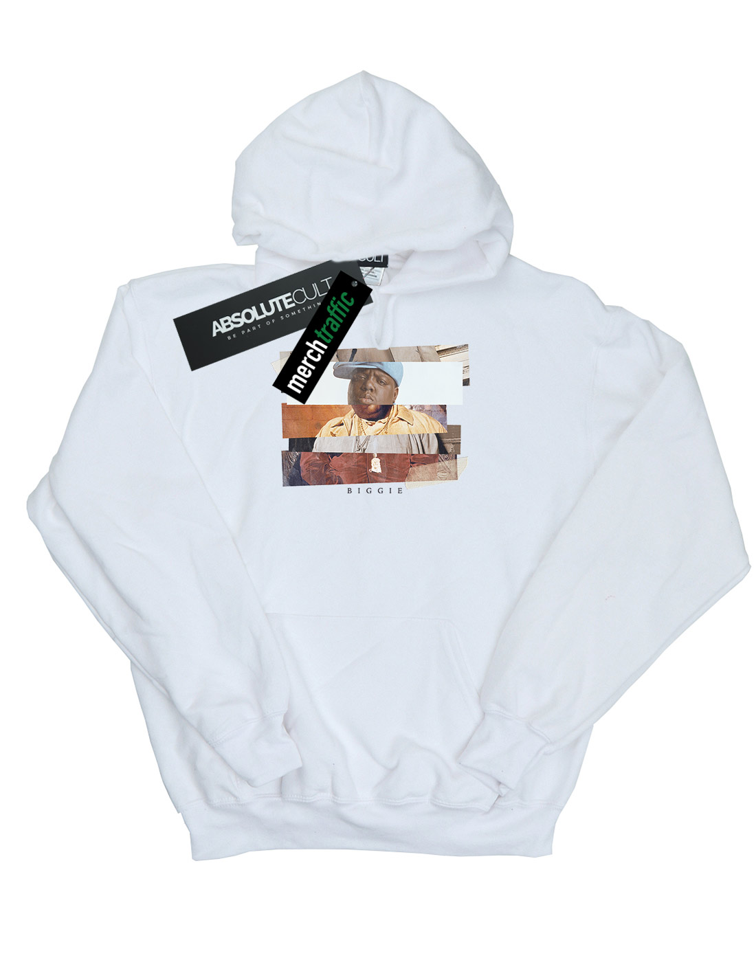 ABSOLUTECULT Notorious Big Boys Fence Photo Hoodie