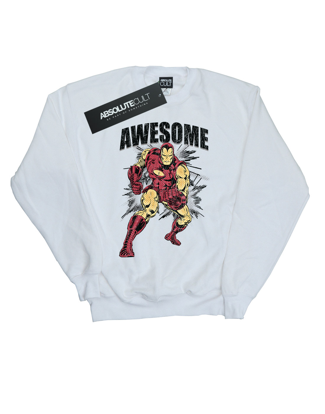 Sweat Marvel Awesome Man Femme shirt Iron r6qfwr1