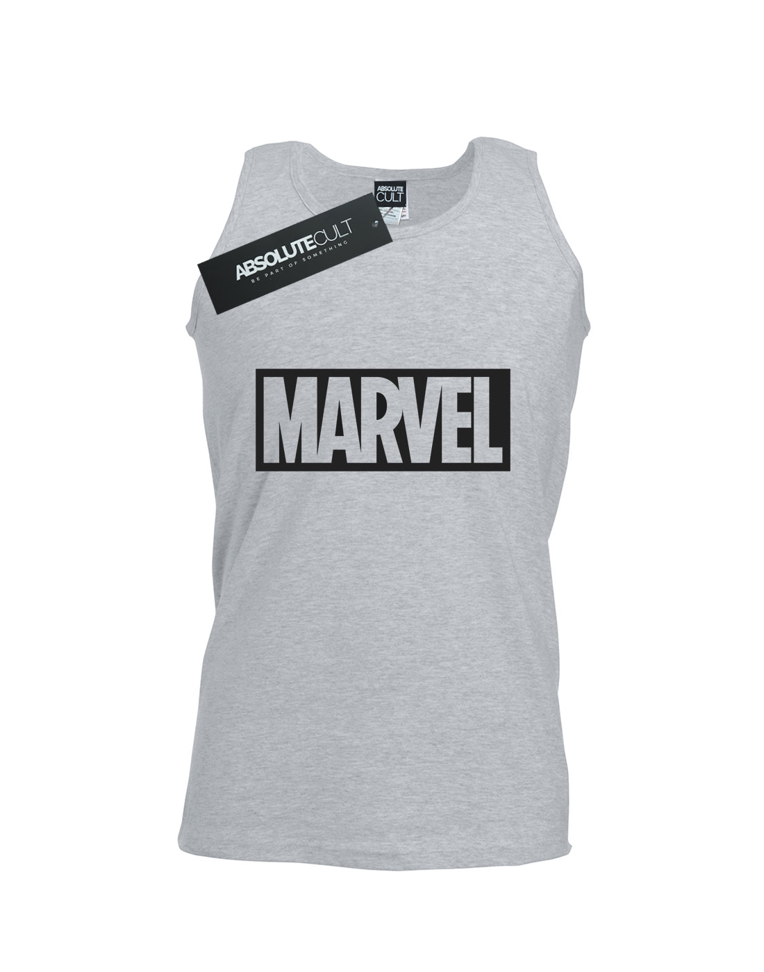 Marvel-Men-039-s-Logo-Outline-Tank-Top thumbnail 5