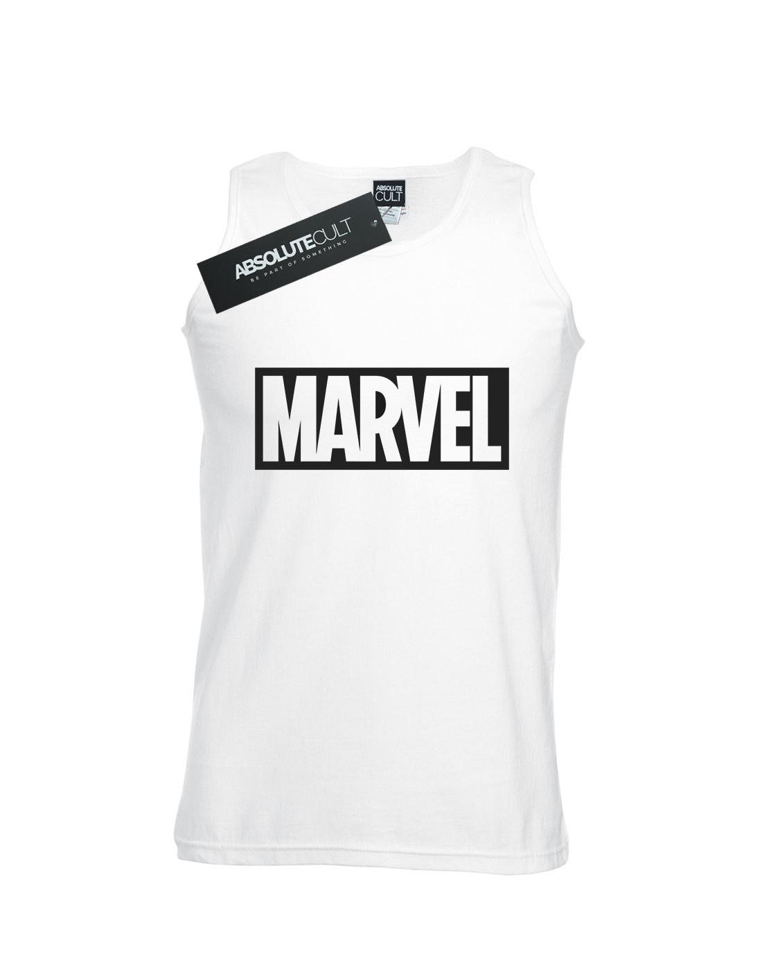 Marvel-Men-039-s-Logo-Outline-Tank-Top thumbnail 8