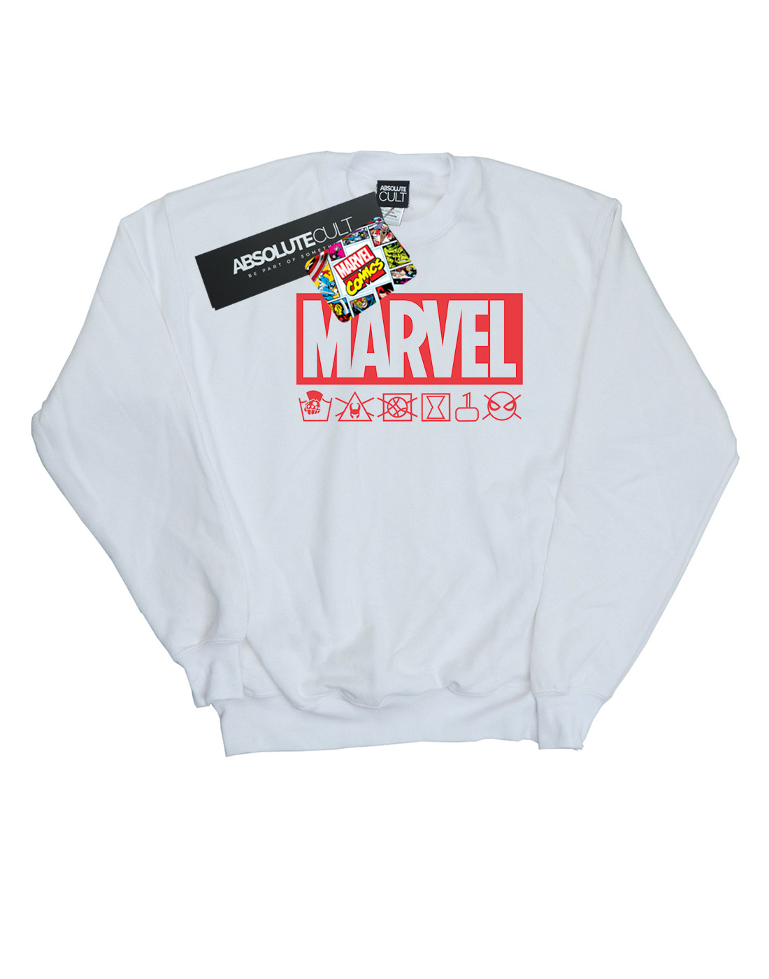 Marvel Damen Logo Wash Care Sweatshirt | | | Exquisite Verarbeitung  | Angemessener Preis  | Wonderful  | Große Auswahl  | Neueste Technologie  42e9aa