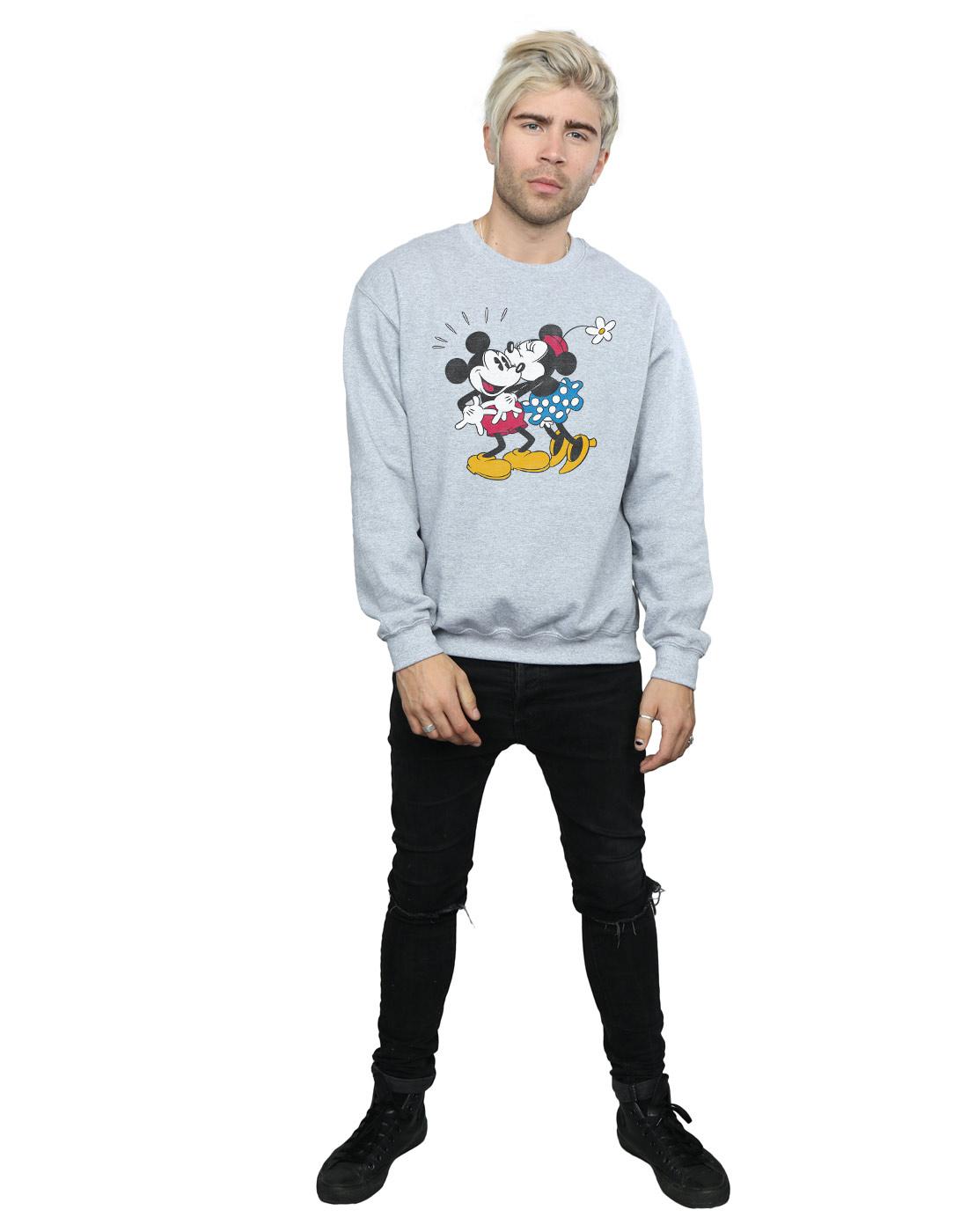 Mickey And Uomo Minnie Disney Felpa Mouse Kiss ZBgznxfwvq