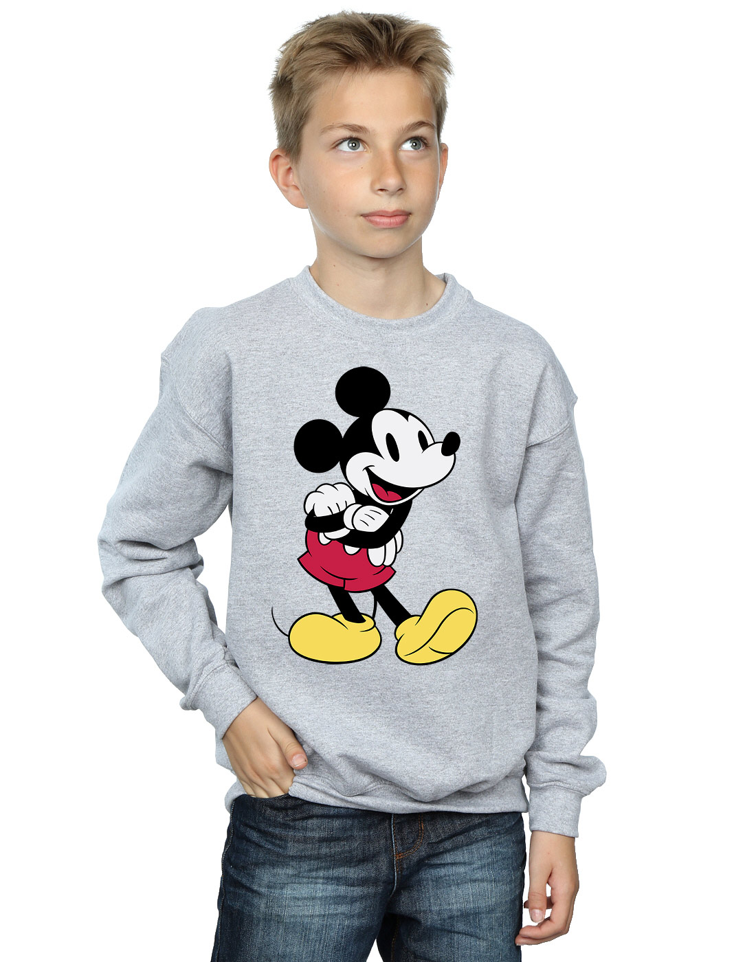Disney Garçon Mickey Mouse Classic Mickey Sweat-Shirt