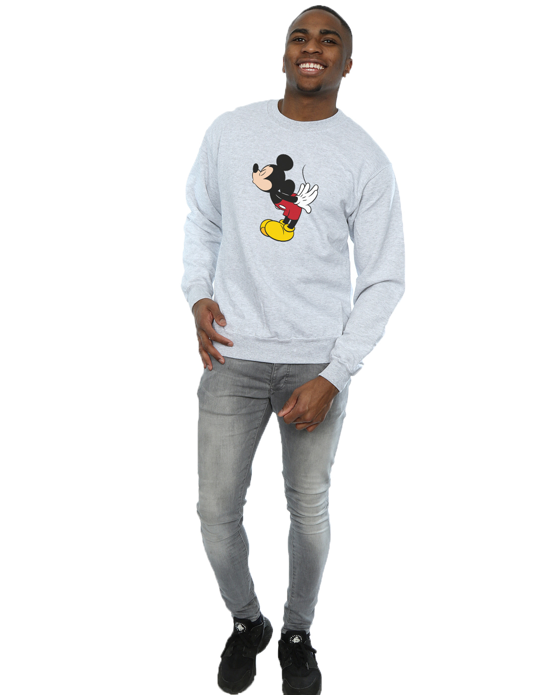 Mouse Split Felpa Uomo Kiss Mickey Disney q6wpTxB8n