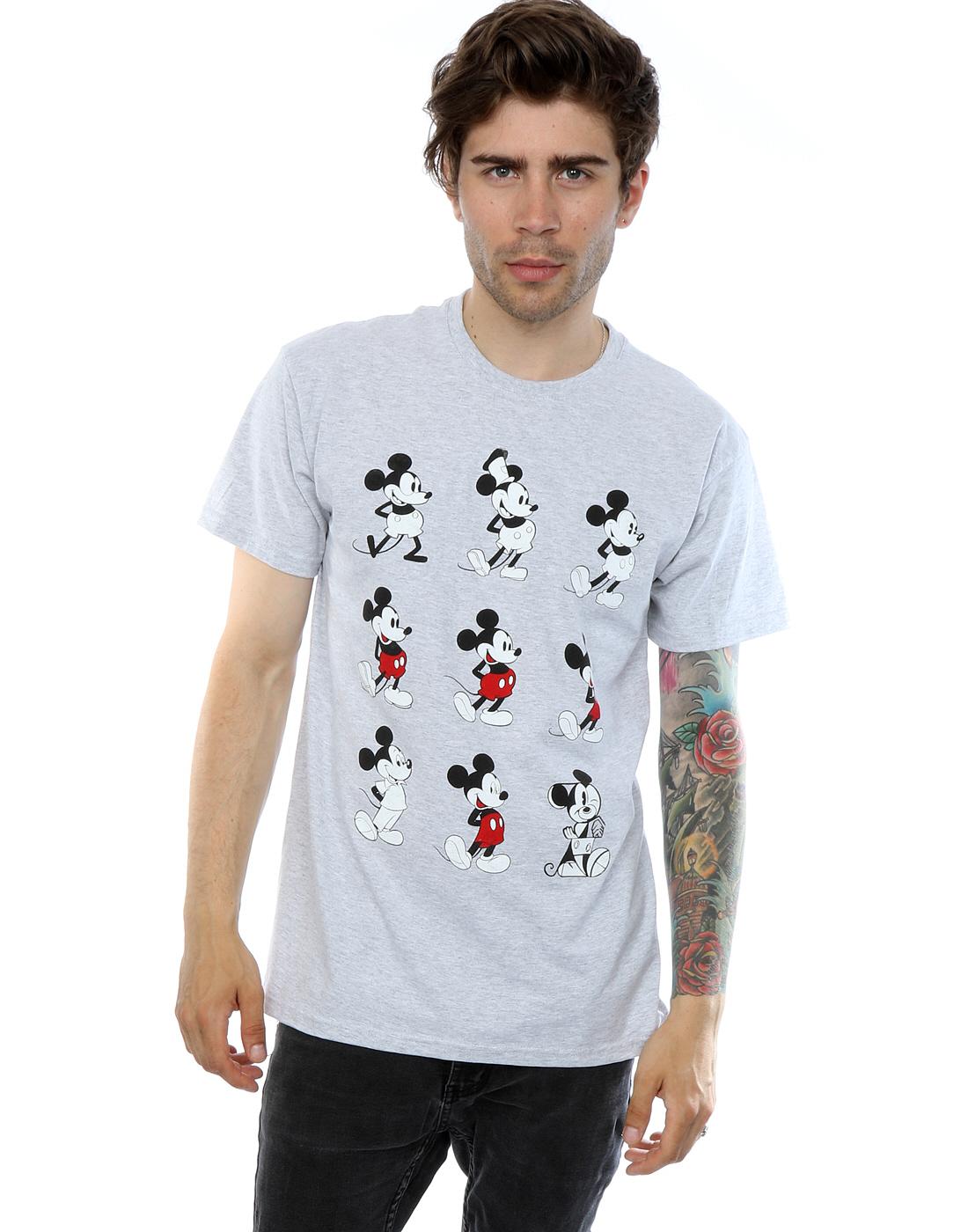 323bb38ab Disney Men's Mickey Mouse Evolution T-Shirt | eBay