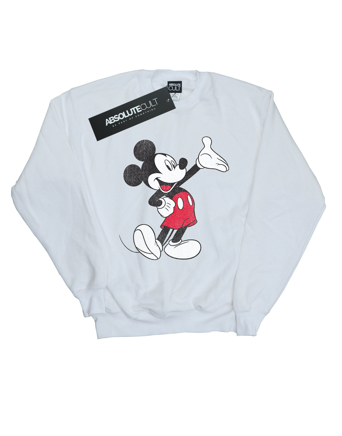 Felpa Disney Mouse Uomo Mickey Wave Traditional OrXrqzxC