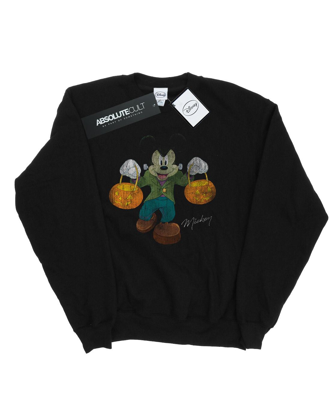Felpa Mickey Disney Uomo Mouse Frankenstein ZZqSWaOrI