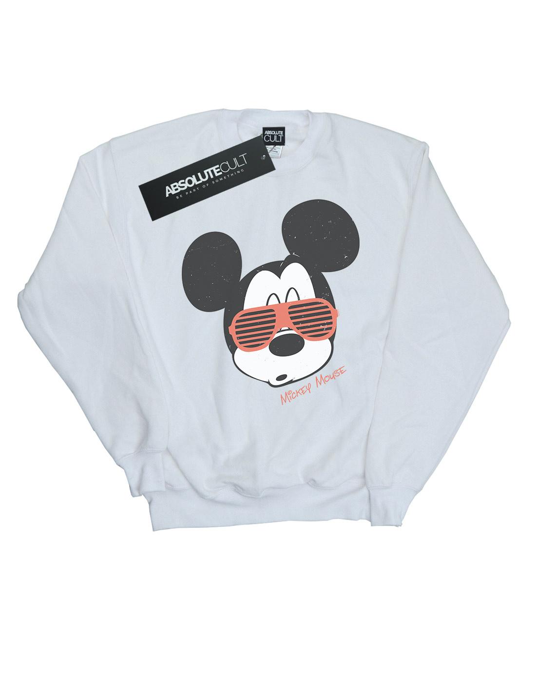 Disney-Ninas-Mickey-Mouse-Sunglasses-Camisa-De-Entrenamiento