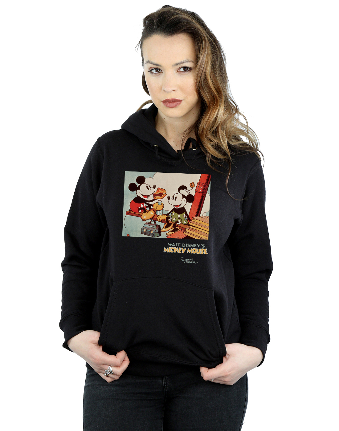 Disney Damen Jacke Gr. X Large, grau: : Bekleidung
