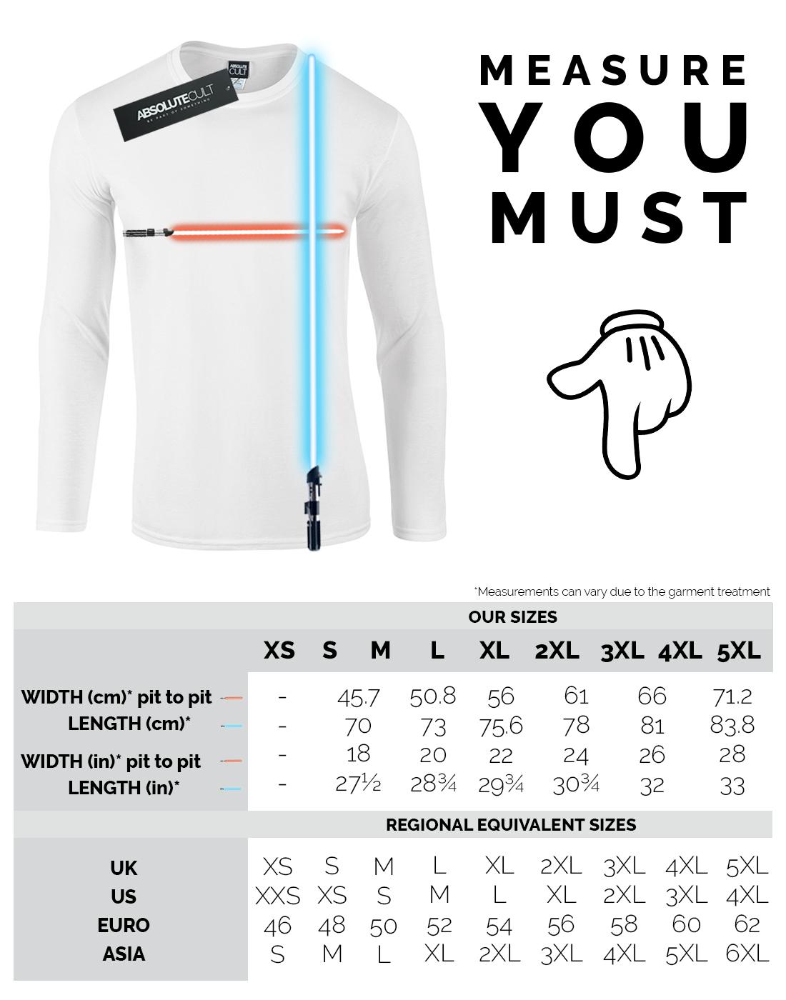 Star-Wars-para-hombre-el-aumento-de-Skywalker-verdadero-Jedi-azul-de-manga-larga-T-Shirt miniatura 6