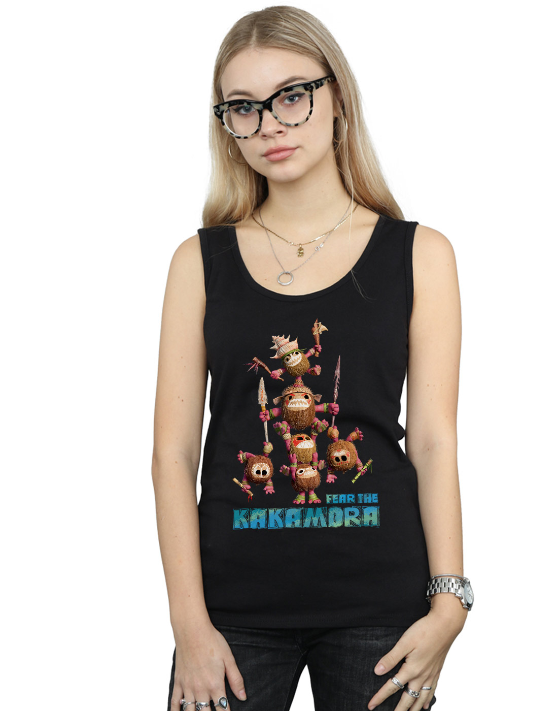 Disney Hombre Moana Fear The Kakamora Camiseta Sin Mangas