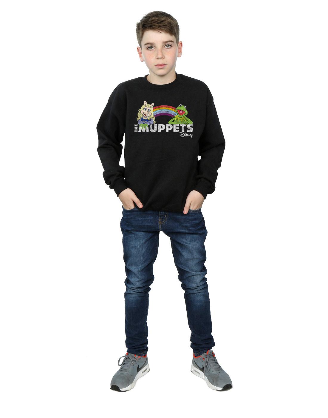 Disney-Garcon-The-Muppets-Rainbow-Sweat-Shirt