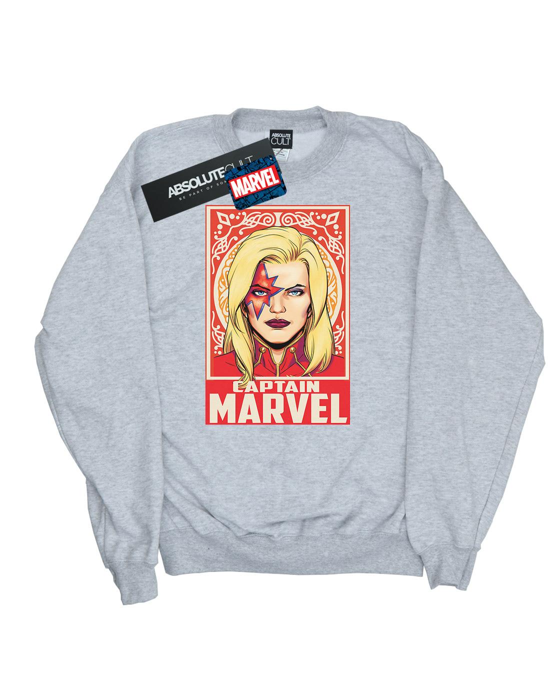 Marvel Damen Captain Captain Captain Marvel Ornament Sweatshirt | Große Klassifizierung  | Einzigartig  | Offizielle Webseite  3f93dc