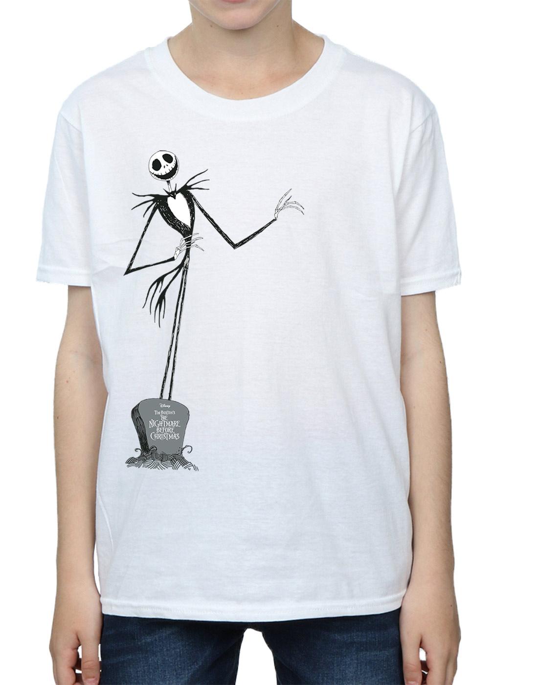 Disney Boys Nightmare Before Christmas Jack Pose T-Shirt   eBay