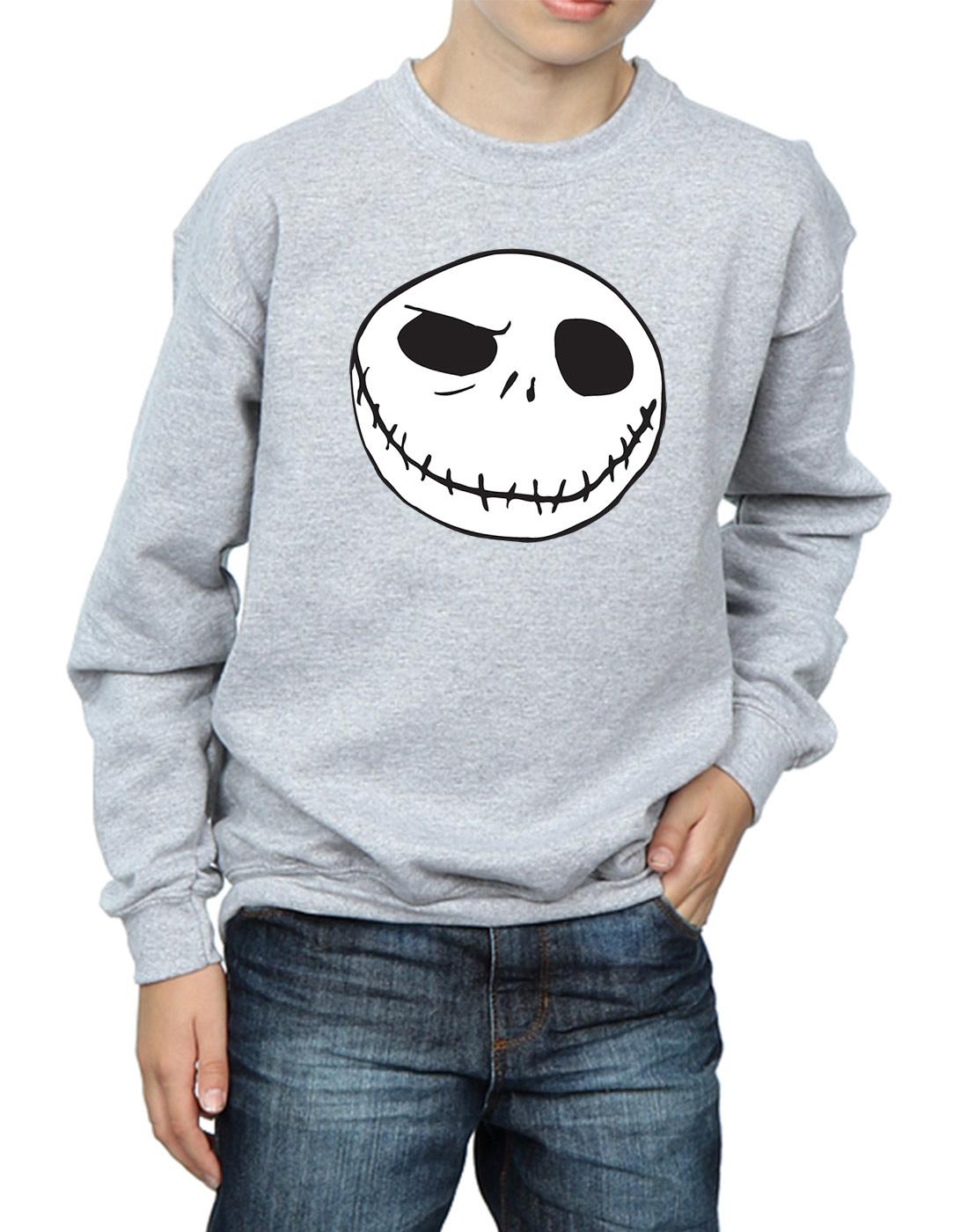 Disney Boys Nightmare Before Christmas Jacks Big Face T-Shirt
