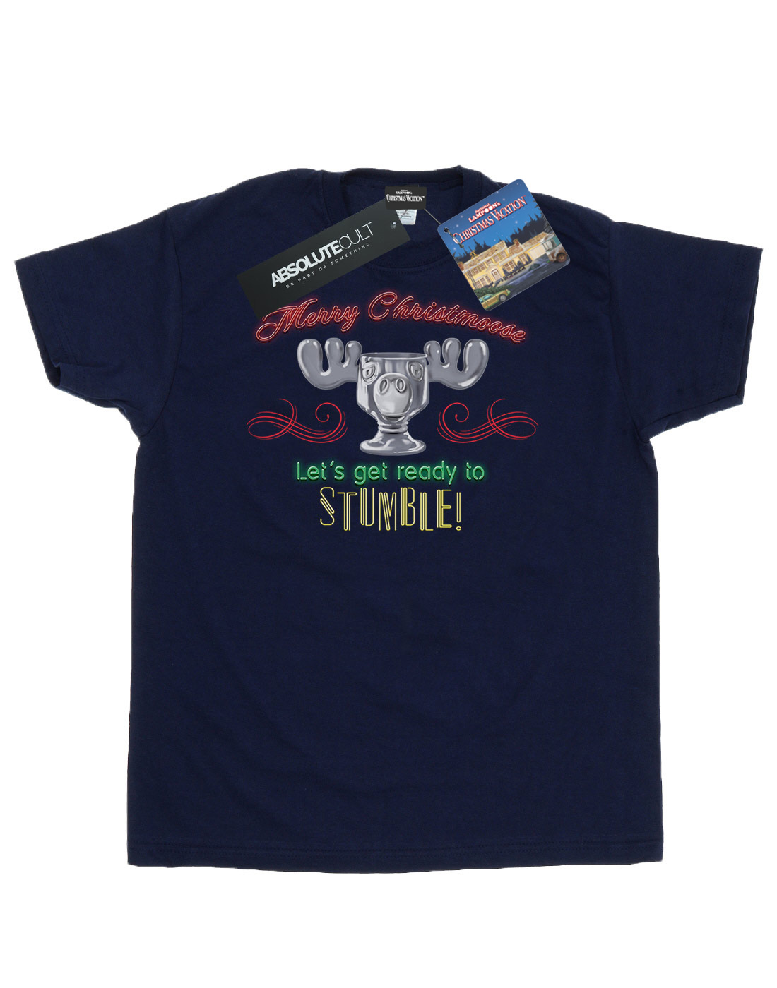 National Lampoon's Christmas Vacation Men's Moose Head T