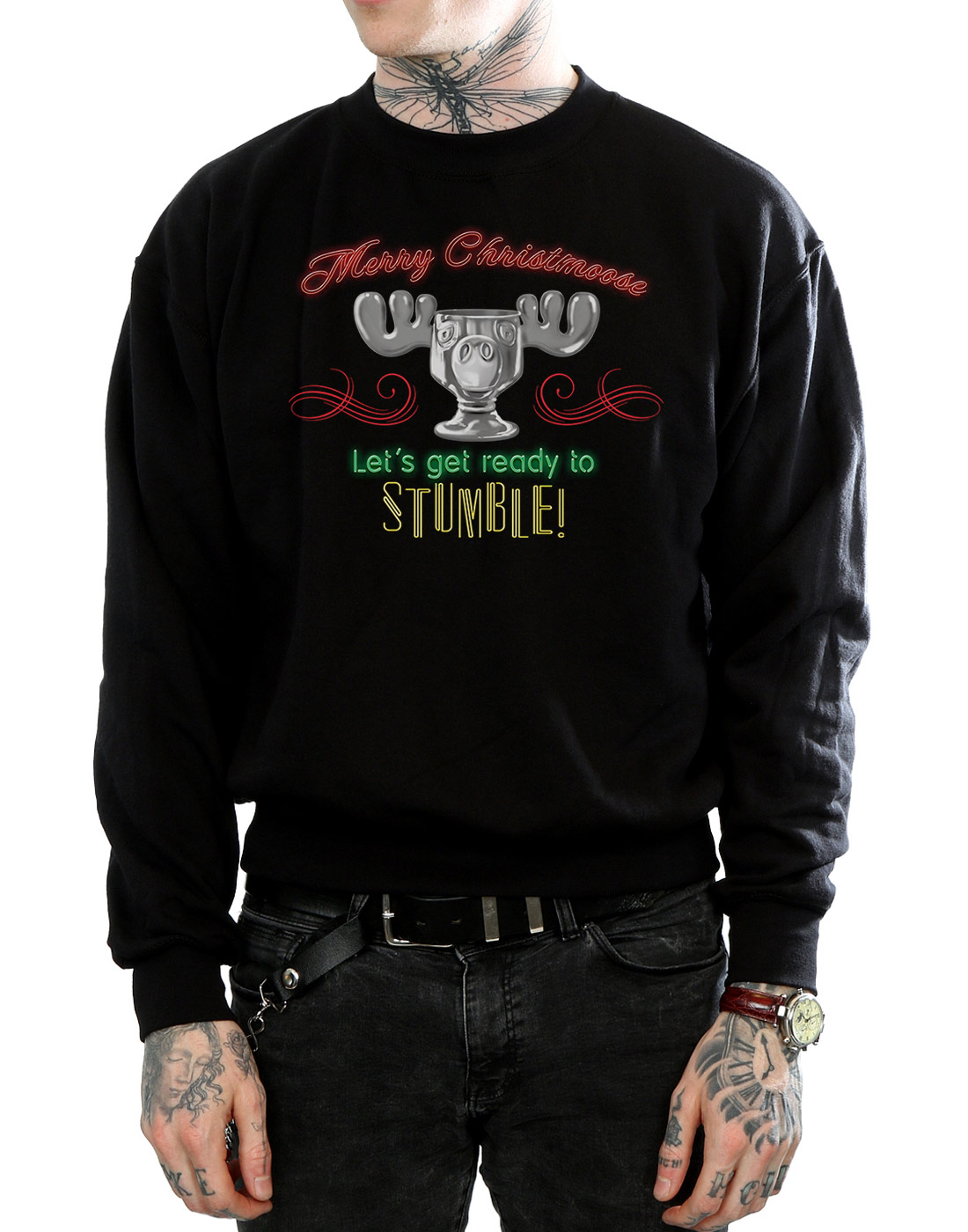 National Lampoon's Christmas Vacation Men's Moose Head