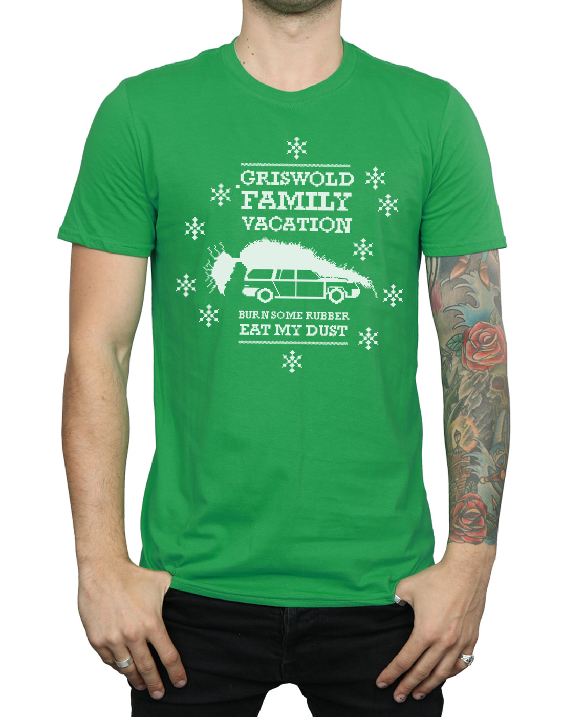 National Lampoon's Christmas Vacation Men's Eat My Dust T