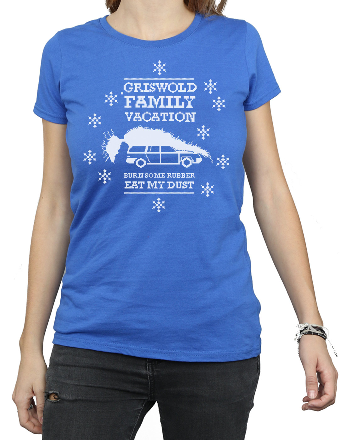 National Lampoon's Christmas Vacation Women's Eat My Dust