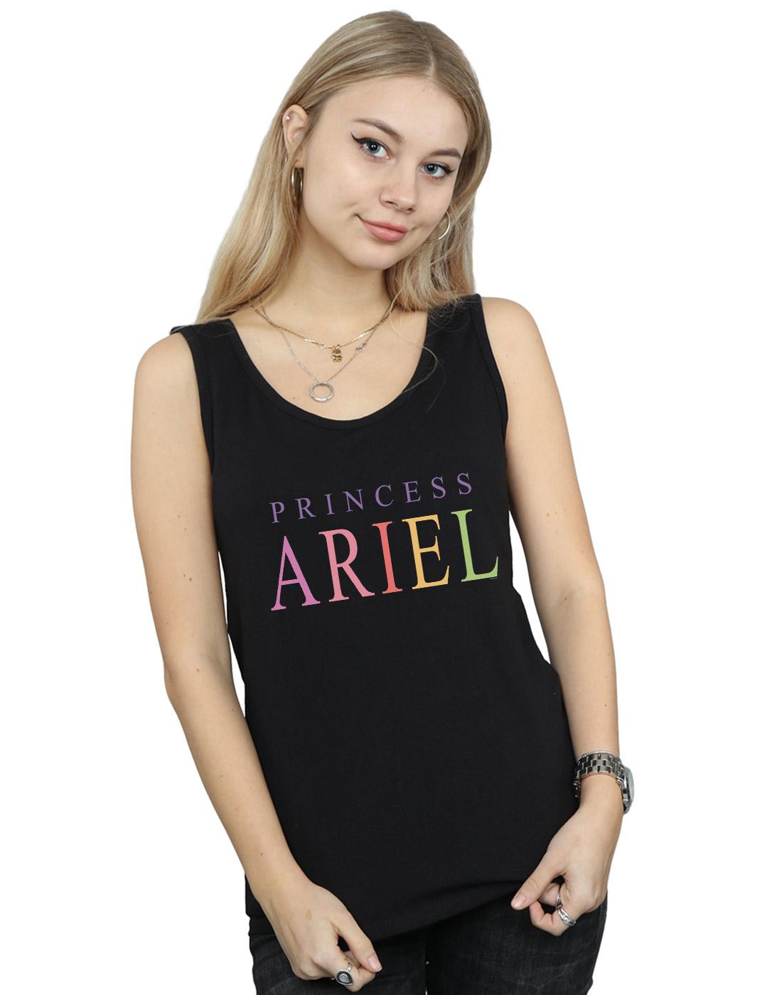 """NUOVO DISNEY LA SIRENETTA ARIEL /""""sono una sirena/"""" a righe Cotone Camicia"""
