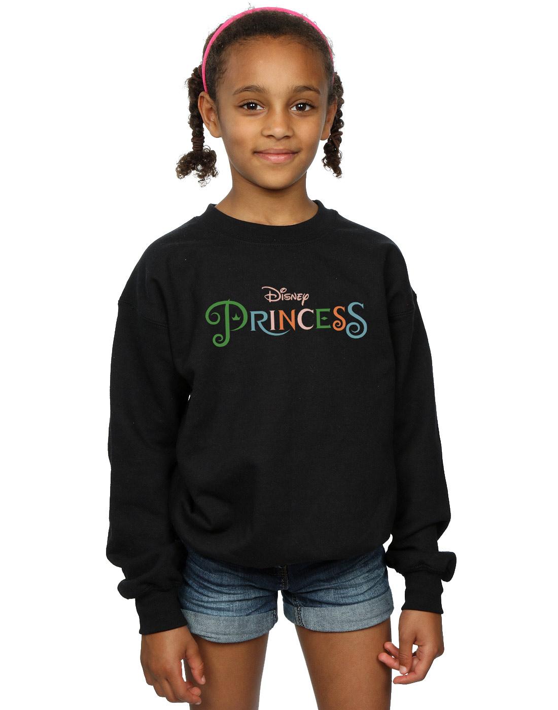 Disney Girls Colour Logo Sweatshirt