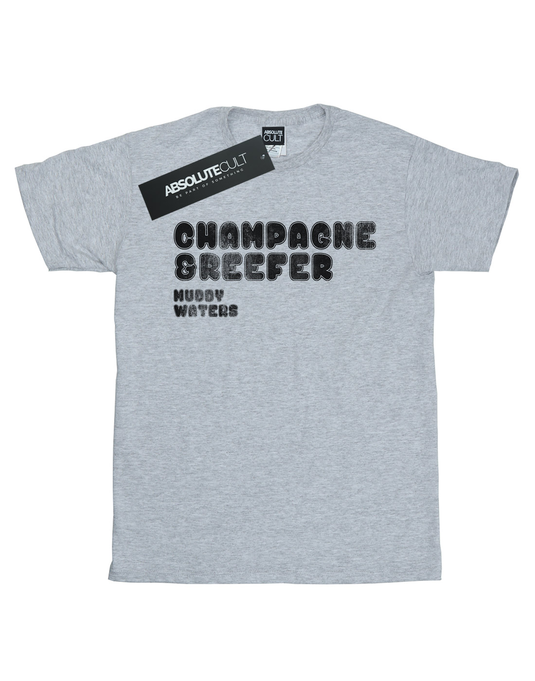 Muddy-Waters-Men-039-s-Champagne-And-Reefer-Distressed-T-Shirt thumbnail 8