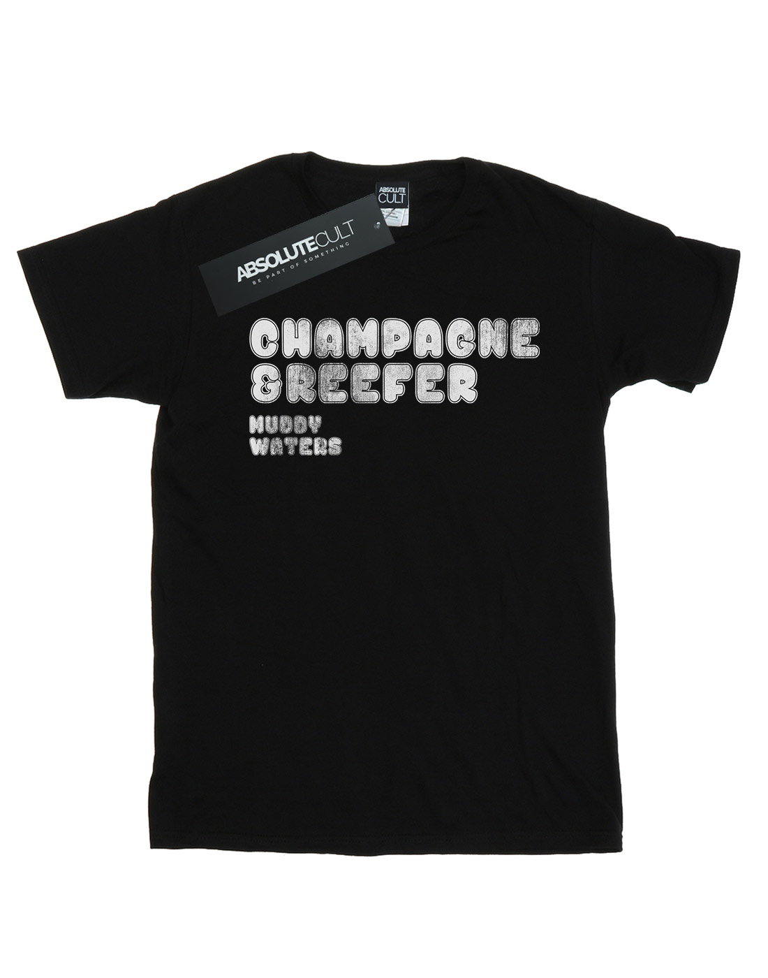 Muddy-Waters-Men-039-s-Champagne-And-Reefer-Distressed-T-Shirt thumbnail 5