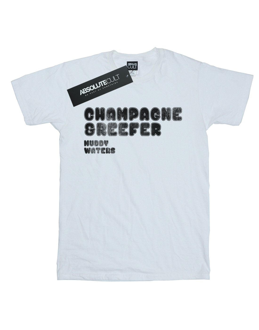 Muddy-Waters-Men-039-s-Champagne-And-Reefer-Distressed-T-Shirt thumbnail 11