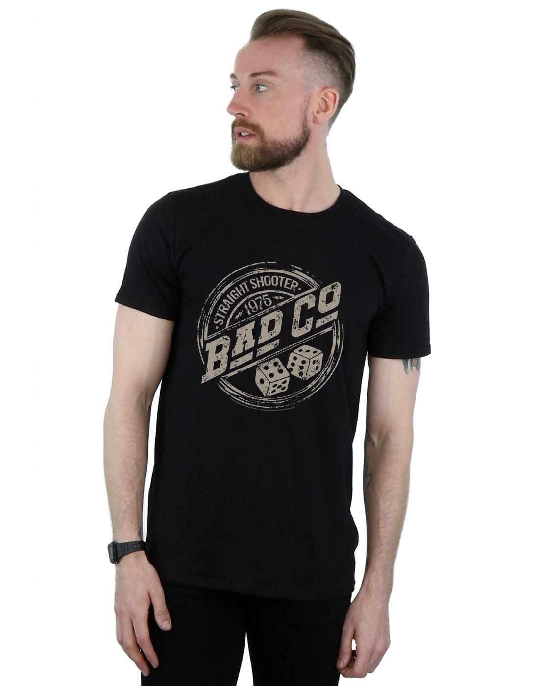 Bad Company Straight Shooter Hard Rock Band Men/'s Black T-Shirt Size S to 3XL