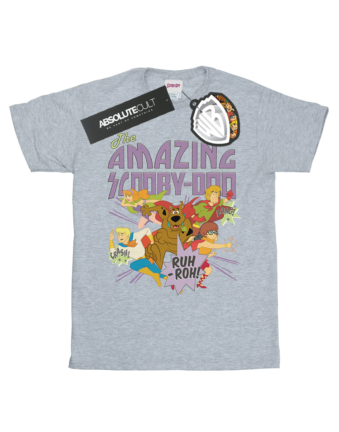 Scooby-Doo-Men-039-s-The-Amazing-Scooby-T-Shirt thumbnail 8