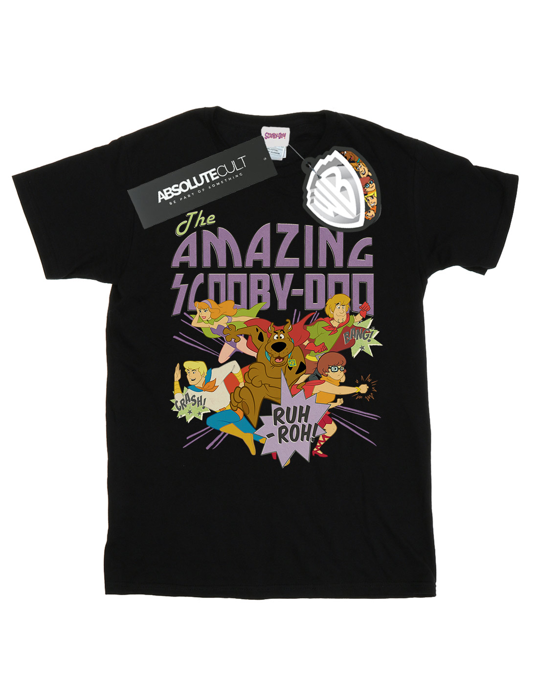Scooby-Doo-Men-039-s-The-Amazing-Scooby-T-Shirt thumbnail 5