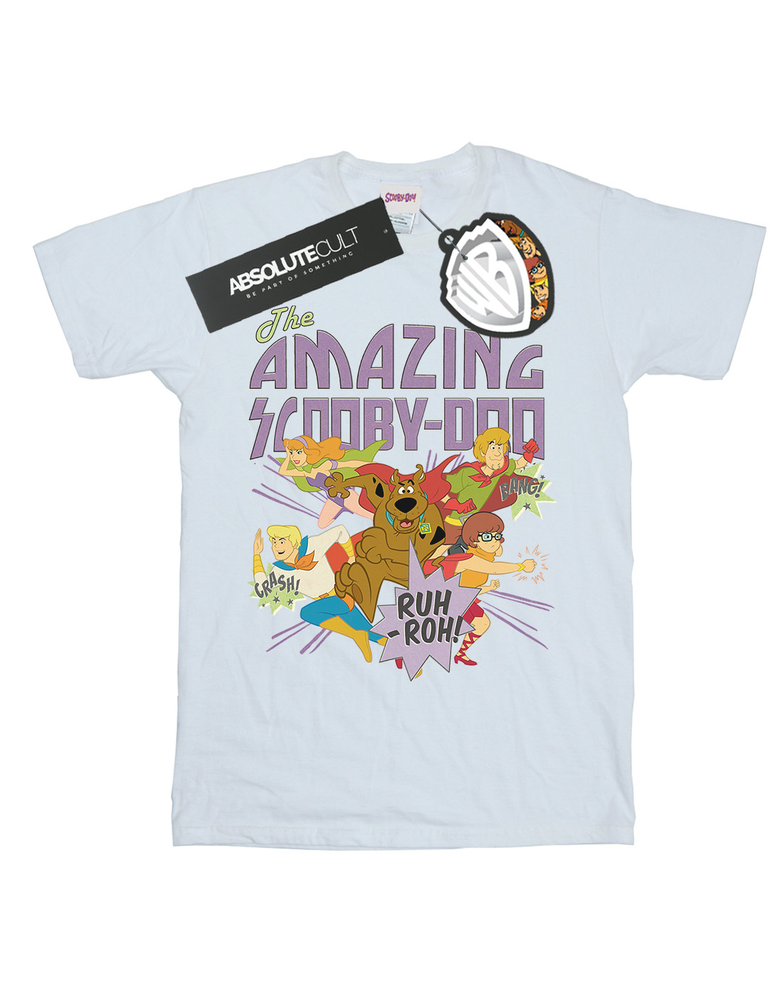 Scooby-Doo-Men-039-s-The-Amazing-Scooby-T-Shirt thumbnail 11