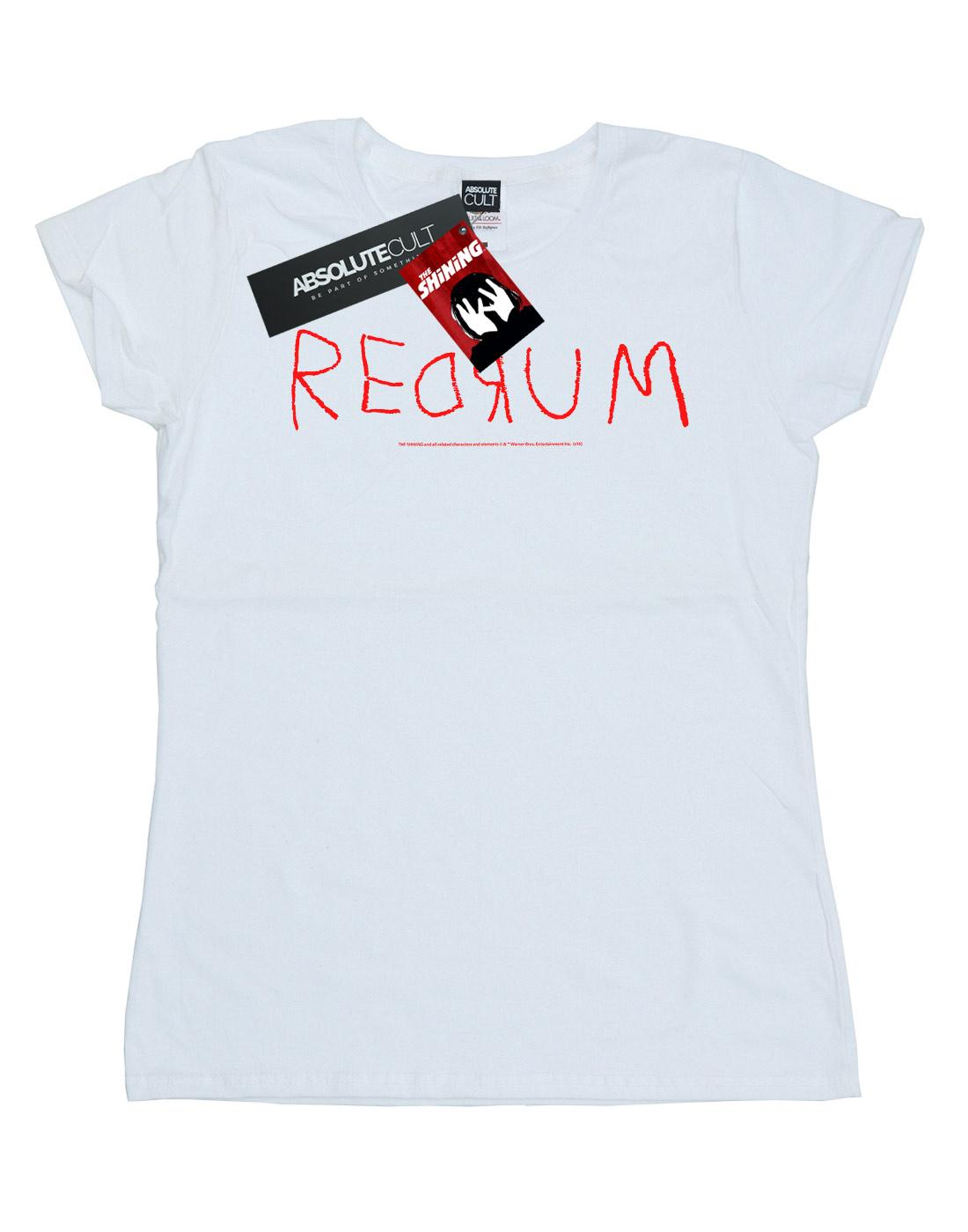 The-Shining-Women-039-s-Redrum-Text-T-Shirt thumbnail 11