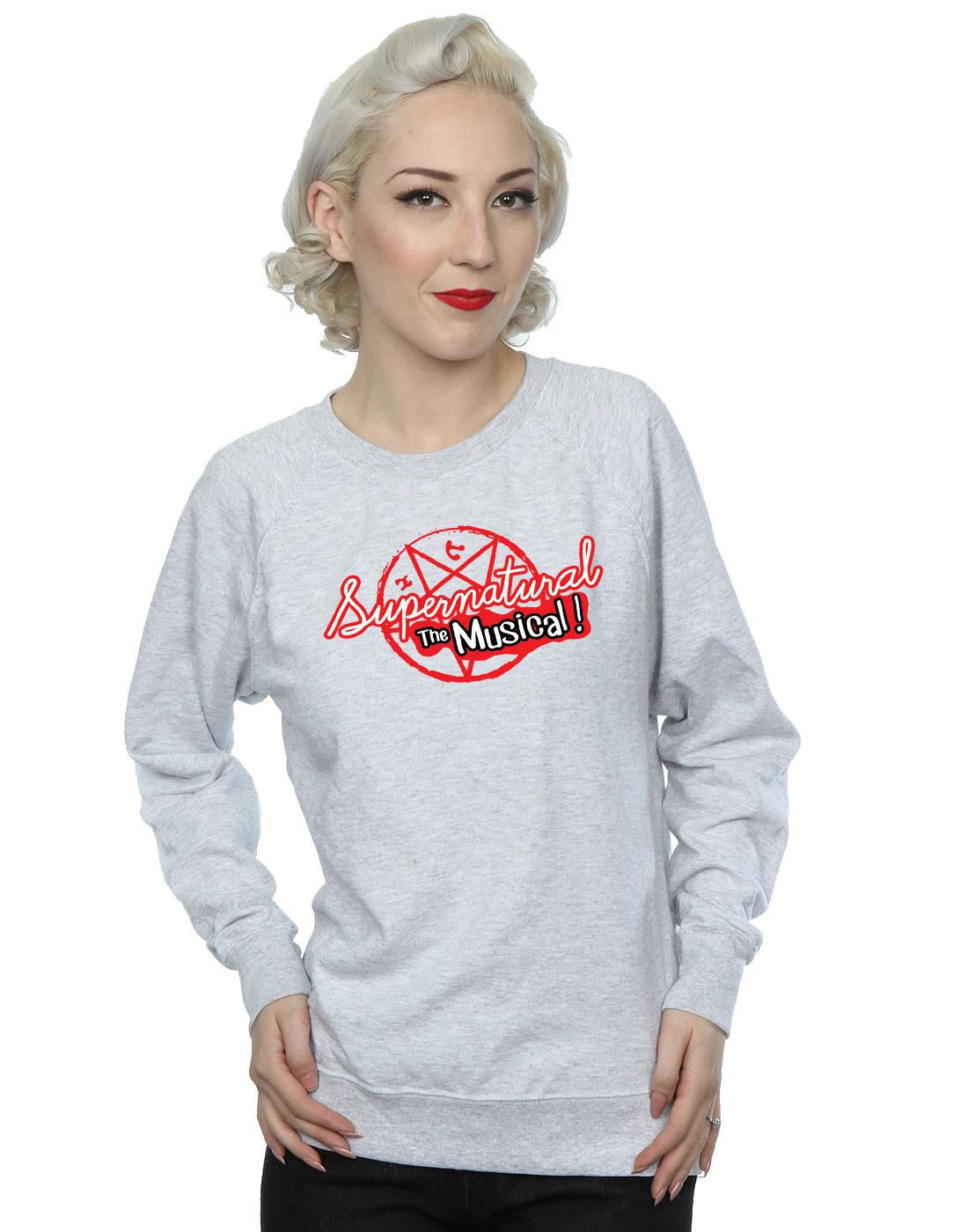 Supernatural-mujer-The-Musical-Camisa-De-Entrenamiento