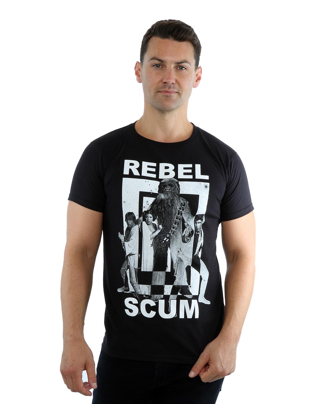 Star-Wars-T-Shirt-Mens-Official-Merchandise