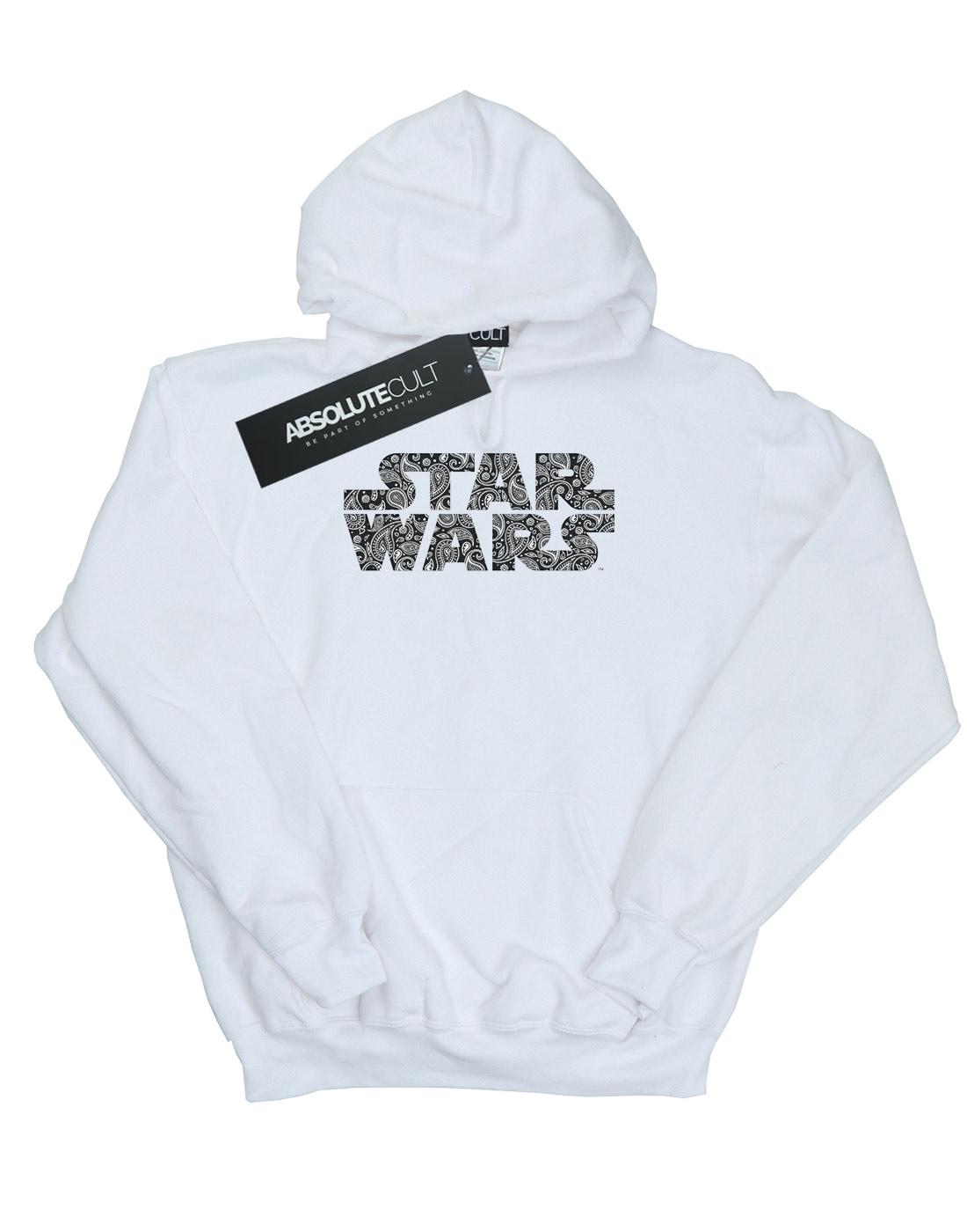 Paisley Star Wars Cappuccio Con Uomo Logo Felpa HHEZ1