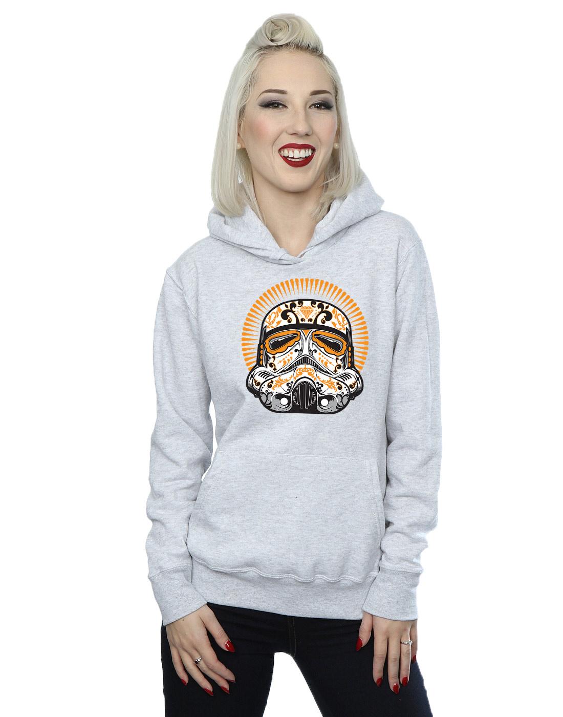 Star-Wars-Femme-Stormtrooper-Dia-De-Los-Muertos-Sweat-A-Capuche