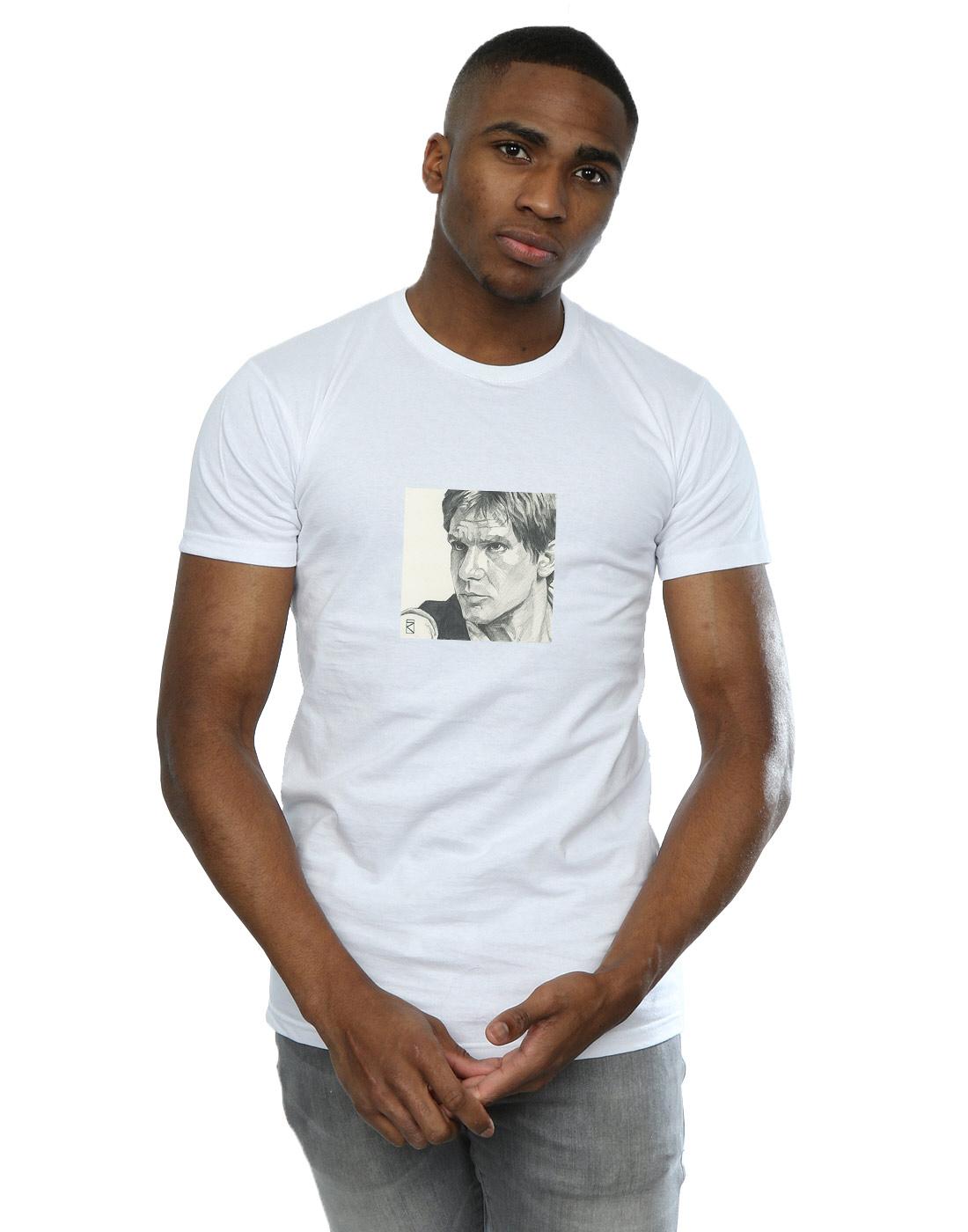 Han-Solo-T-Shirt-Mens-Official-Star-Wars-Merchandise