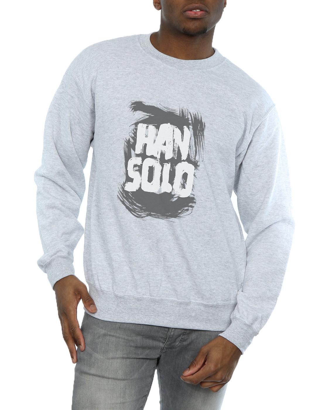 Shirt Wars Han Star Ebay Sweat Solo Text Homme qpYqwHaxR