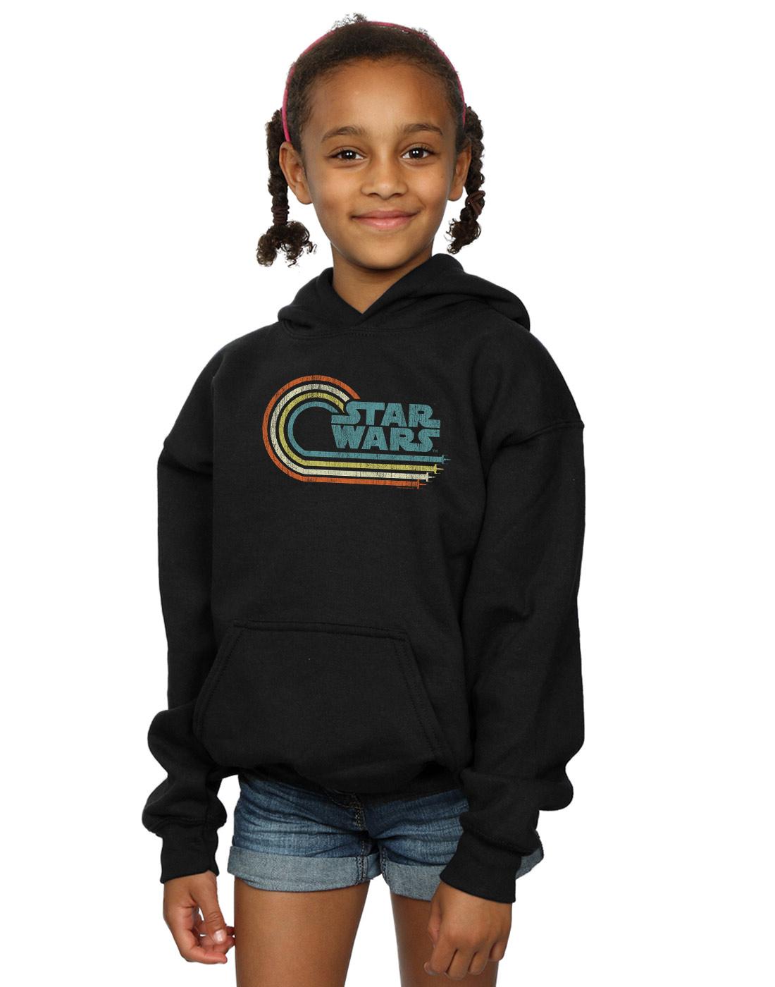 Star Wars Girls Retro Wave Logo Hoodie