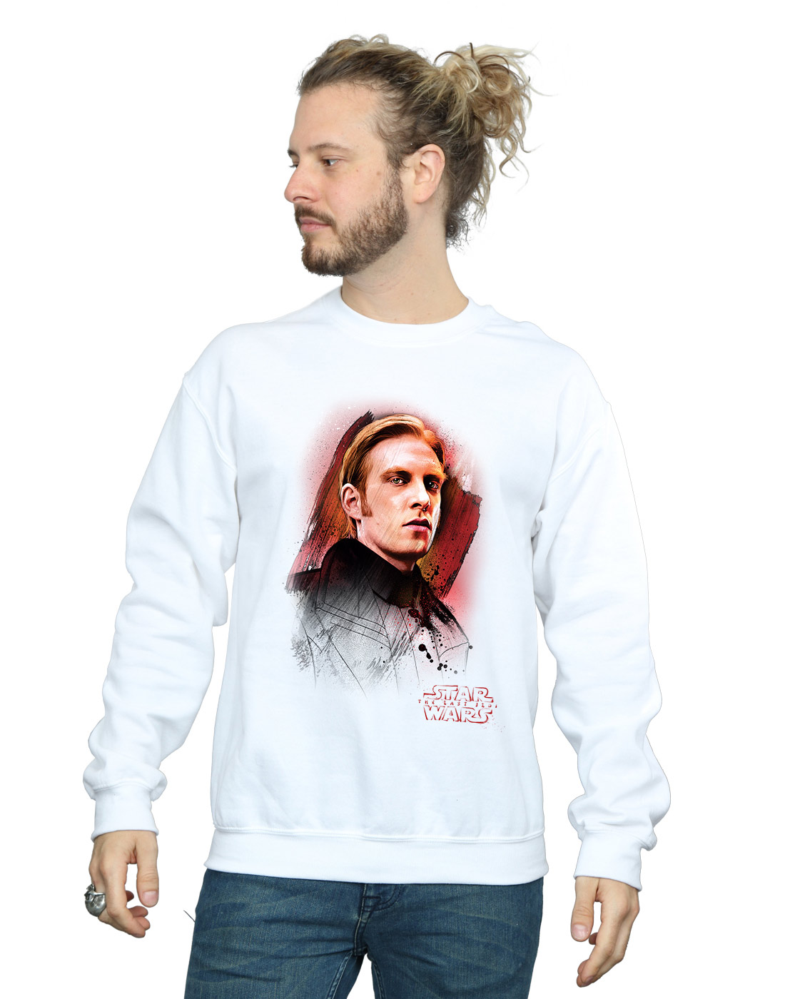 Luke Skywalker Baseball Long Sleeve T-Shirt Officially Licensed The Last Jedi