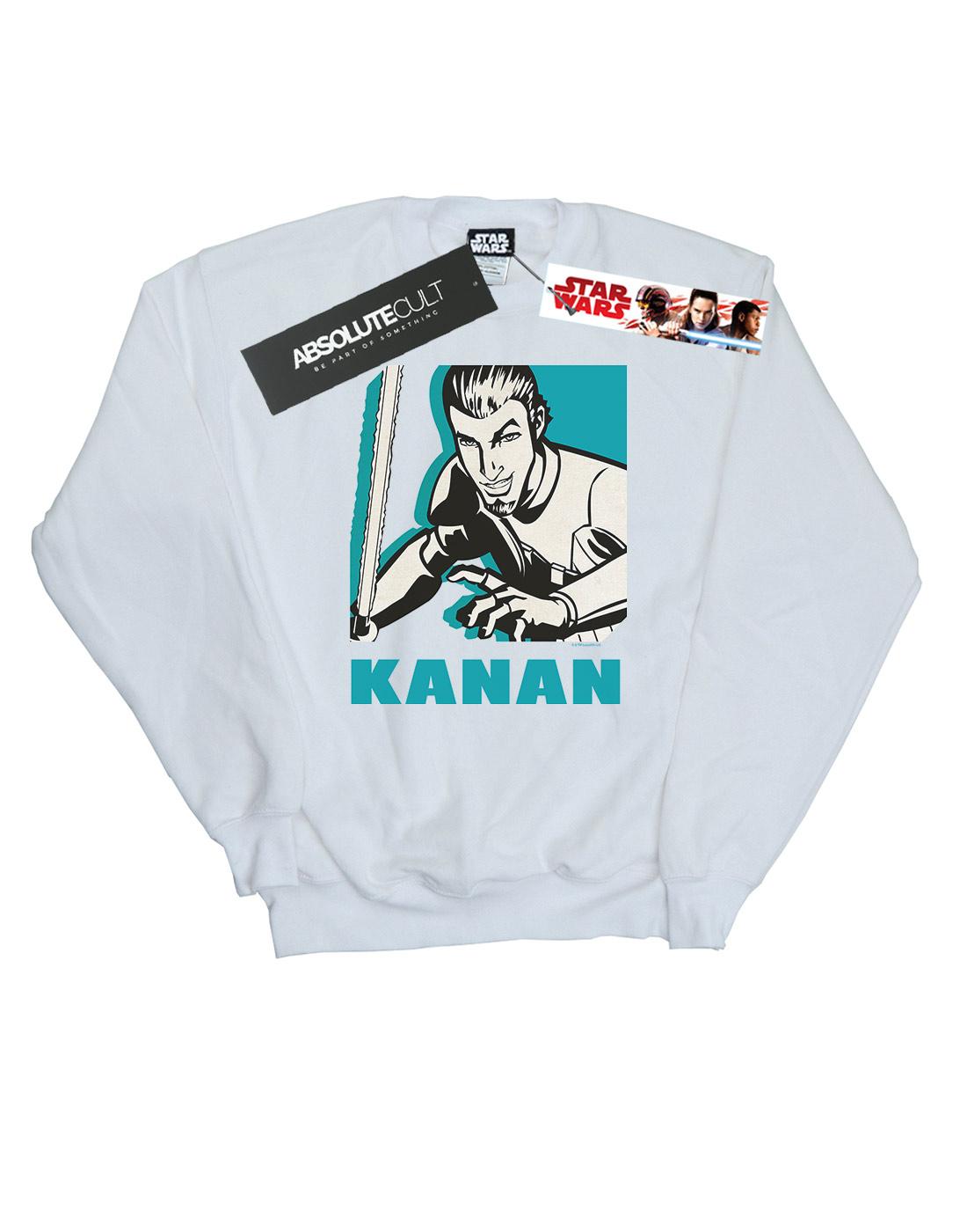 Star Wars Herren Herren Herren Rebels Kanan Sweatshirt | Neuer Eintrag  cb8191